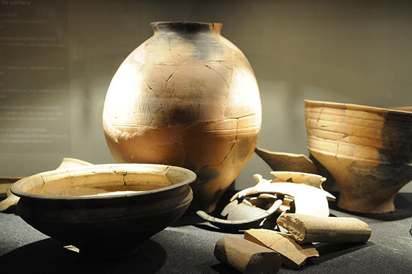 Poteries nanterriennes du Ier siècle av. J-C.