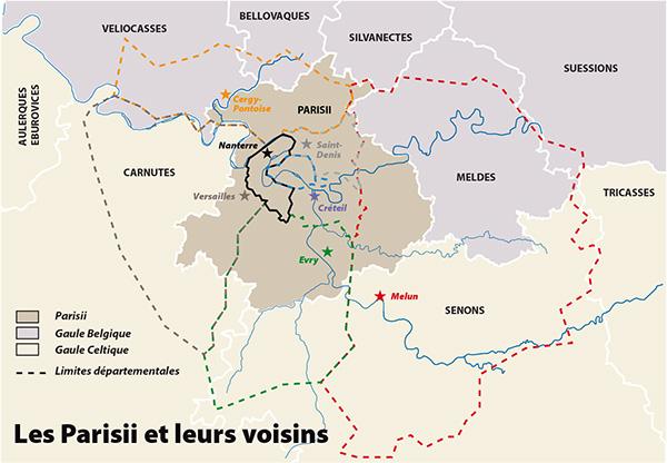 Les Parisii et leurs voisins