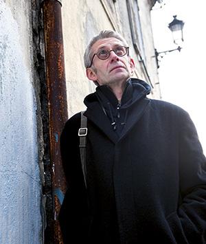 Portrait Patrick Pécherot