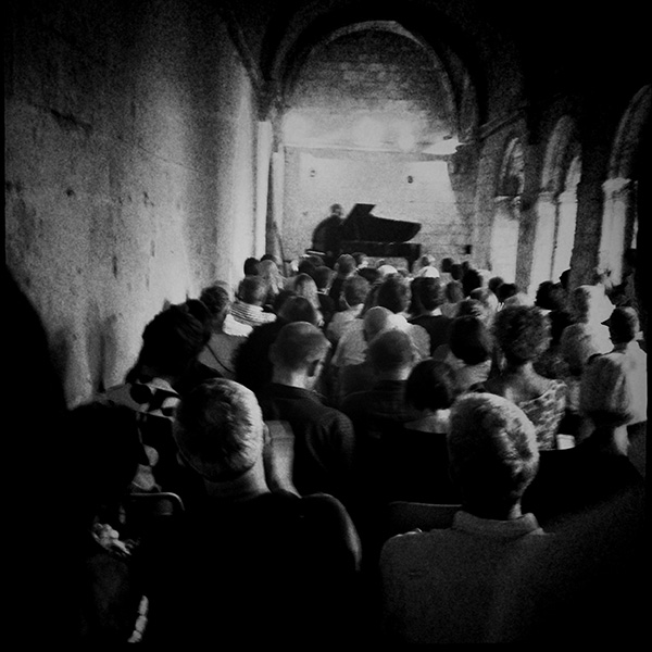 Récital Bruce Brubaker, abbaye de Silvacane